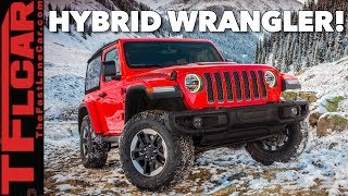 Jeep Wrangler Plug-in Hybrid: Coming To A Dealer Near You  In January 2020!