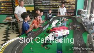 Mini Slot Car Racing -  road racing, drag racing, NASCAR for kids!!