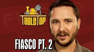 Fiasco pt. 2: Alison Haislip, Bonnie Burton, and John Rogers join Wil on TableTop, episode 9