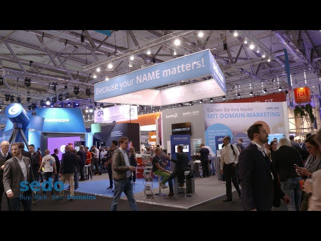 Sedo at dmexco 2017: Because Your Name Matters