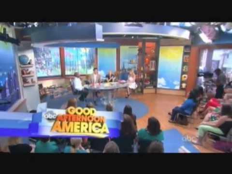 Logan Levkoff on Good Afternoon America's Premiere