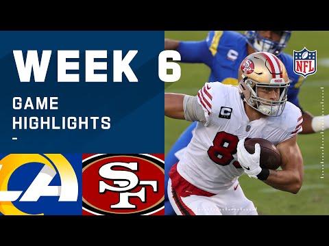 Rams vs. 49ers Week 6 Highlights | NFL 2020