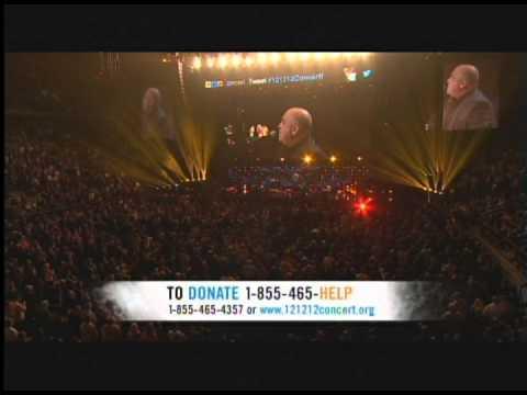 Billy Joel River of Dreams Live 121212concert Hurricane Sandy