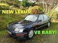 HubNut does Luxury! New Lexus LS400 arrival
