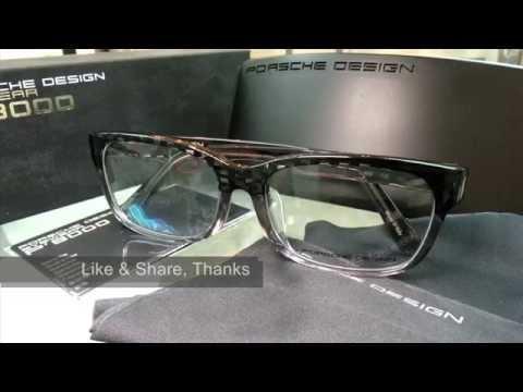 19842313a18 Porsche Design eyewear asian fit P8707 眼鏡亞洲臉型- YouTube