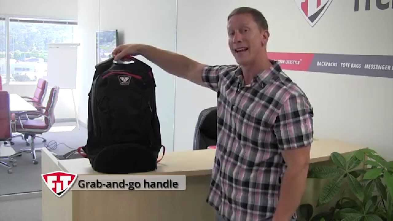deda7c00bc7040 Velocity Backpack Product Review. Fitmark Bags