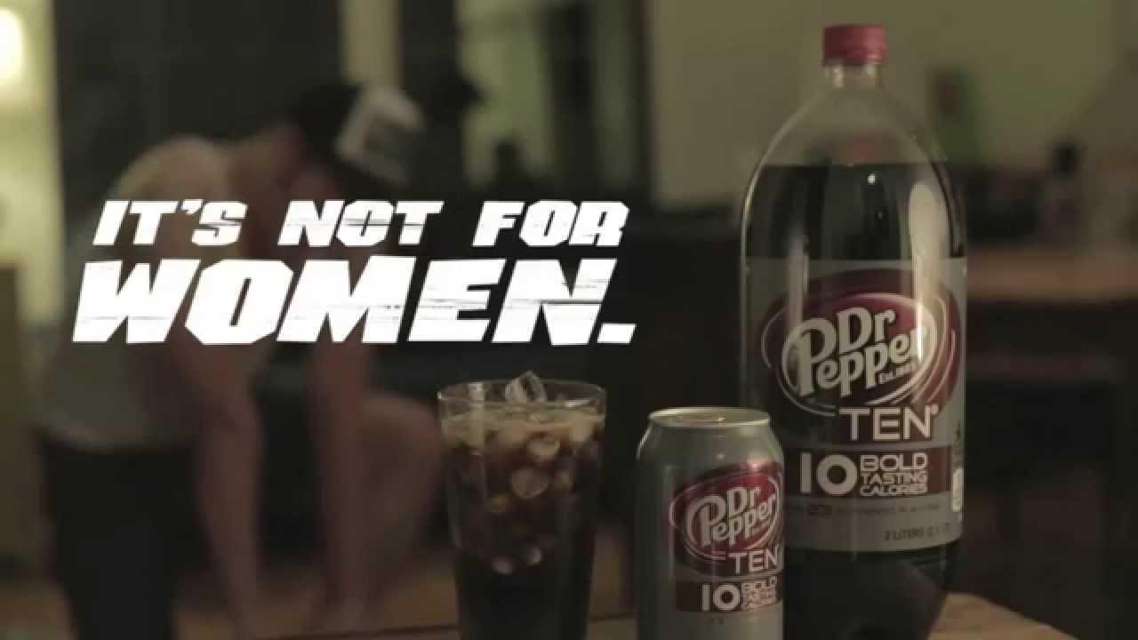 Weird Dr. Pepper 10 Commercial - YouTube