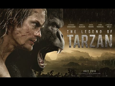 The Legend of Tarzan - Official Teaser...