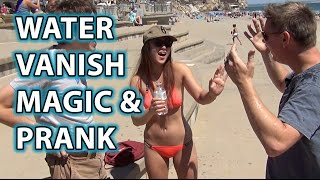 Impossible Vanishing Water Prank!  MAGIC or TRICK?