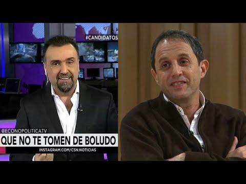 Entrevista de Ernesto Tenembaum a Roberto Navarro sobre la pauta oficial