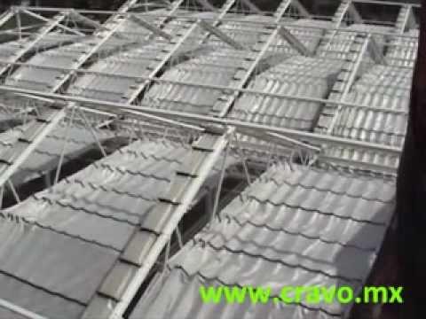Cravo techo retractil con sistema de cortinas interiores - Techos retractiles para terrazas ...