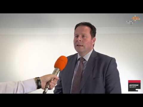 Paul Swinckels van United Technologies, deelnemer Amsterdam Security Expo