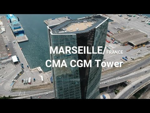 CMA CGM Tower Marseille - Drone Flight