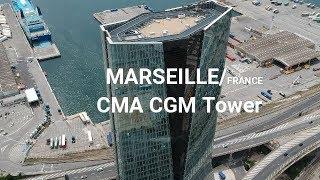 CMA CGM Tower Marseille - Drone Flight