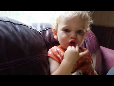 TOO CUTE Breastfeeding Toddler just learned to sign for more food and milk! thumbnail