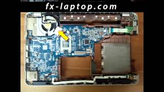 disassembly hp pavilion dv6 3000 replacement clean take apart keyboard screen battery