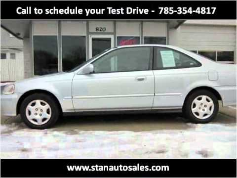 Stans Auto Sales >> 1999 Honda Civic Available From Stan S Auto Sales Inc