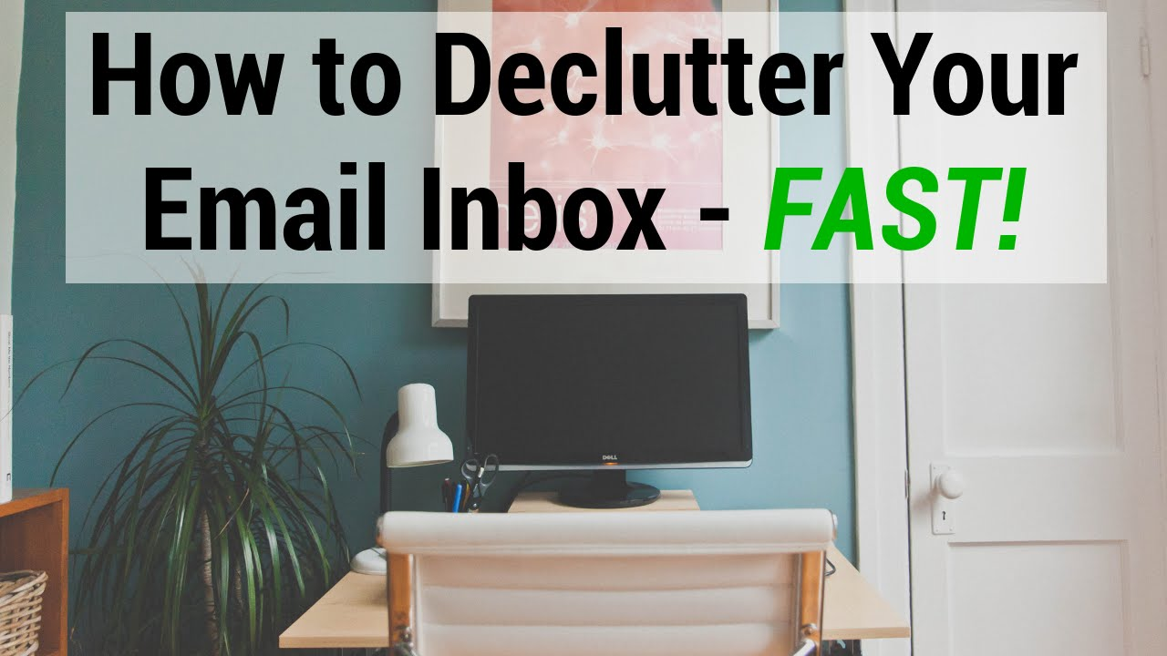 How to declutter your email inbox fast youtube how to declutter your email inbox fast sciox Images