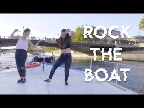 ROCK THE BOAT - BREAK DANCING with LADY ROCKS
