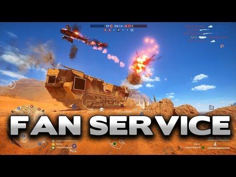 Battlefield 1 Fan Service