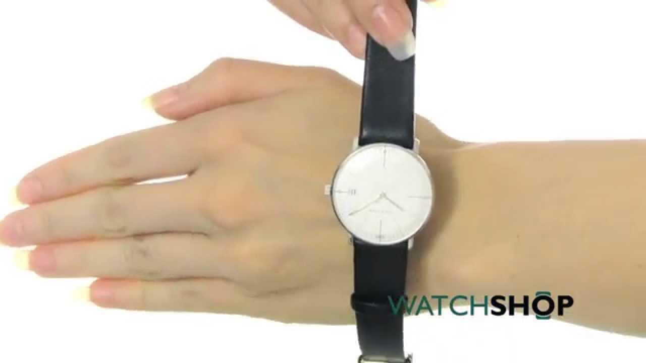 Junghans Ladies  Max Bill Damen Watch (047 4251.00) - YouTube 0cdd0b98116