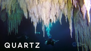 The biggest underwater cave on Earth