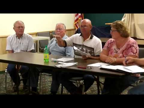 Wells County Commission Property Tax Hearing