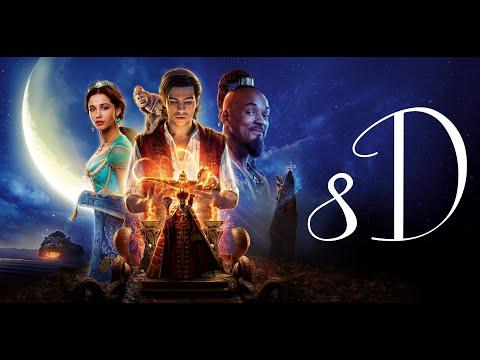 """(True 8D UHQA) Mena Massoud, Naomi Scott - A Whole New World (From """"Aladdin"""")"""