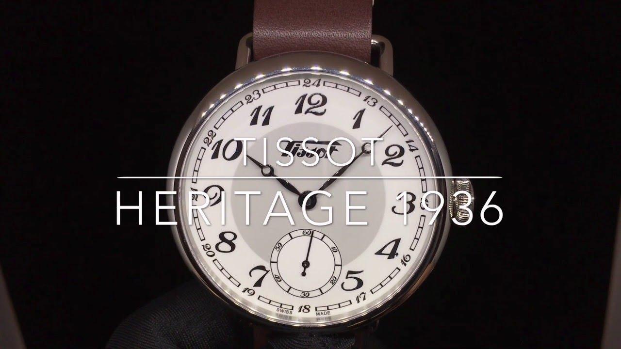 tissot heritage 1936 youtube