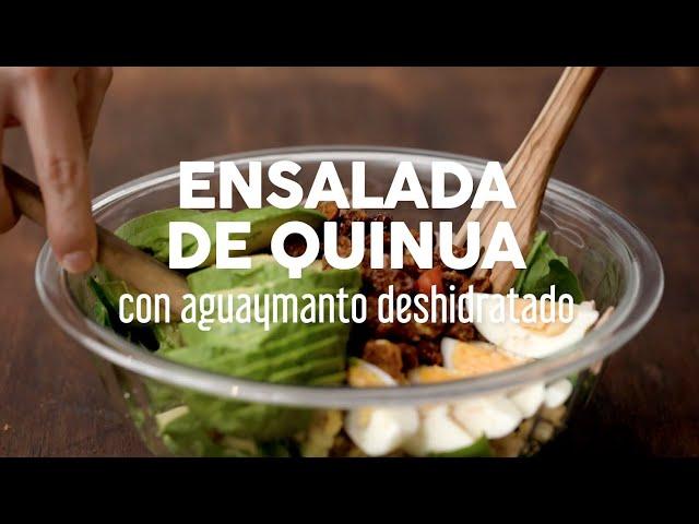 Ensalada de Quinua con Agaymanto deshidratado
