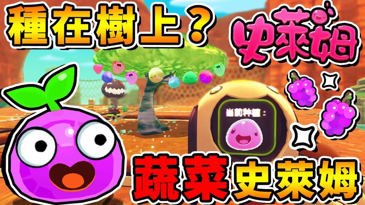 【史萊姆農場】可以種樹上嗎😂紫茄子史萊姆⭐怎麼醜成這樣XD !!【目前看過❤最糟糕の隱藏造型】安裝後瞬間改回來XD🔥 !! 中文劇情《Slime Rancher》全字幕 !! 第九季