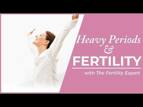 What does a Heavy Period mean for fertility?  | The Fertility Expert