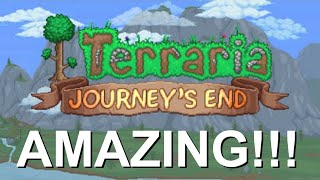 Cover images Terraria Journey's End is BEAUTIFUL!!!