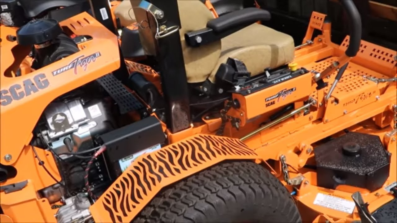 Scag Zero Turn Mower Overview With Cheetah V Ride And