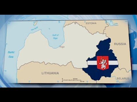 Latvia Probes Online Separatist Map Social media map proposes