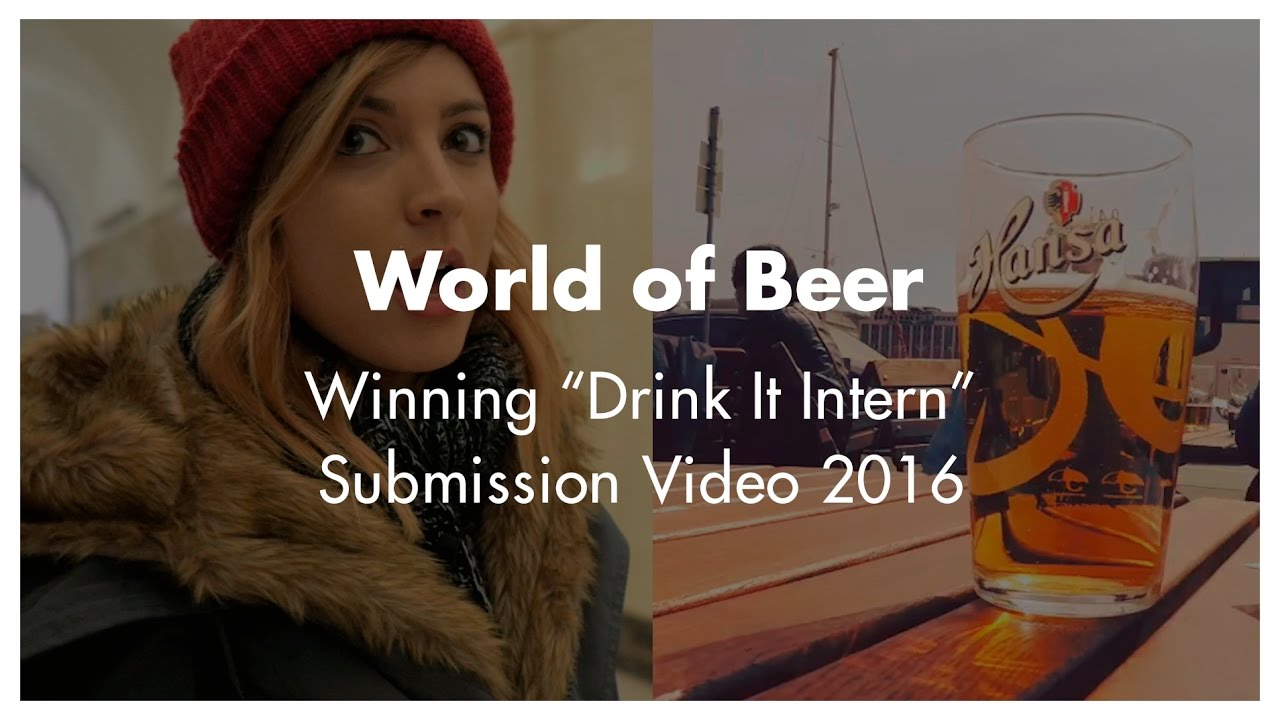 Wob Drink It Intern 2016 Submission Video Alison
