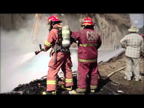 A volunteer firefighter becomes Guatemala City's unsuspecting hero