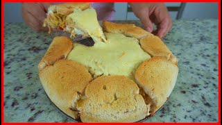 Se Você tem Pão de Forma em Casa faça essa Torta de Frango para Família Toda