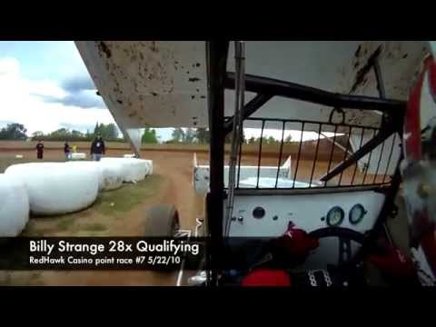 On-board 28x Sprintcar 5/22/10 at Placerville Speedway in HD!