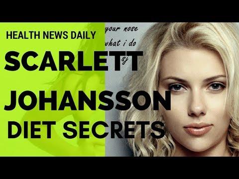 SCARLETT JOHANSSON  Diet Secrets | Celebrity Diet - Vegan Diet