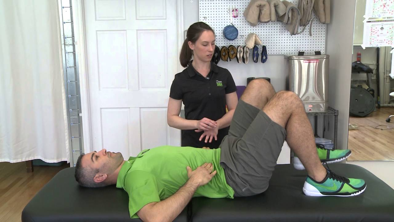 Exercise for physical therapy - Core Exercise Transversus Abdominus Tva Zion Physical Therapy Video