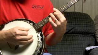 How to strum a banjo in the style of Sweet City Woman