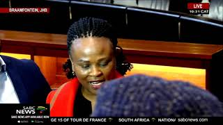 Public Protector Busisiwe Mkhwebane reacts to ConCourt costs ruling