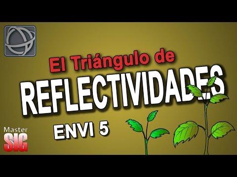 ¿Que es el Triángulo de Reflectividades?-NDVI-Landsat-ENVI 5   Master SIG