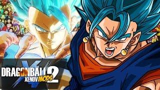 THE BLUE FUSION BATTLE!! SSJ Blue Vegito VS SSJ Blue Gogeta | Dragon Ball Xenoverse 2 MODS