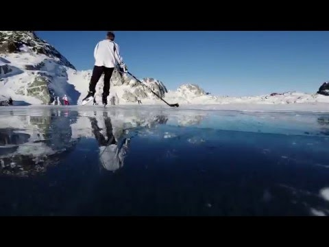 Heli-Hockey,  top of the mountain game in Beautiful British Columbia with NHL stars | Shot in 4K!