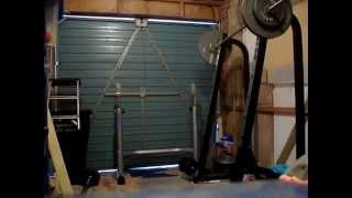 """Doing the """"Spartan"""" 300 Workout, Part 1 (pull-ups, deadlifts, push-ups, box jumps)"""