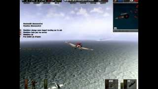 "Battlefield 1942 Multiplayer PC  ""Battle of Midway"" Conquest gameplay"