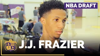 Lakers Draft Prospect: J.J. Frazier Interview (Georgia, Guard)