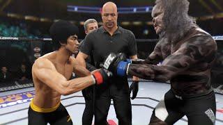 Bruce Lee vs Doomsday (EA Sports UFC 2)